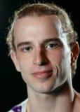 Portret van de 25 éénjarigenmens. Royalty-vrije Stock Afbeelding