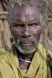 Portret van de Afrikaanse man Stock Foto