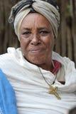 Portret van de Afrikaanse vrouw Royalty-vrije Stock Foto