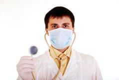 Portret van de arts. Stock Foto