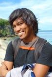 Portret van de Aziatische jonge mens royalty-vrije stock afbeelding