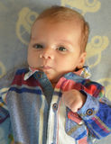 Portret van de baby Royalty-vrije Stock Foto's