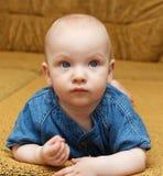 Portret van de babyjongen. Stock Foto's