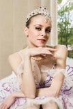 Portret van de ballerina Stock Afbeeldingen
