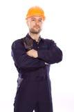 Portret van de bouwer Royalty-vrije Stock Fotografie