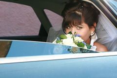 Portret van de bruid Royalty-vrije Stock Afbeelding