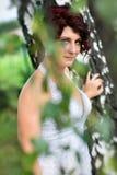 Portret van de bruid Royalty-vrije Stock Afbeeldingen