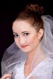 Portret van de bruid Royalty-vrije Stock Fotografie