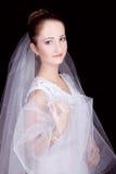 Portret van de bruid Stock Foto