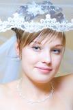 Portret van de bruid Stock Afbeeldingen