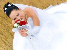 Portret van de bruid Stock Fotografie