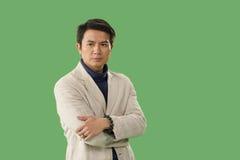 Portret van de Chinese mens Stock Afbeeldingen
