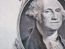 Portret van de eerste V S President George Washington stock afbeelding