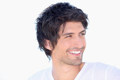 Portret van de glimlachende mens stock foto