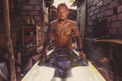 Portret van de Indonesische mens stock afbeeldingen