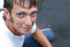 Portret van de jonge kerel Stock Foto