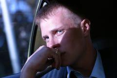 Portret van de jonge man Stock Afbeelding