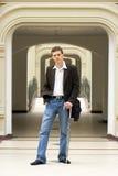 Portret van de jonge man Royalty-vrije Stock Afbeeldingen