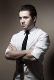 Portret van de jonge mens Stock Foto