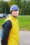 Portret van de jonge mens-sportman Royalty-vrije Stock Fotografie