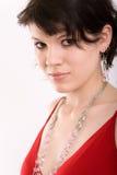 Portret van de jonge, mooie vrouw Royalty-vrije Stock Afbeeldingen