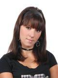 Portret van de jonge vrouw Stock Fotografie