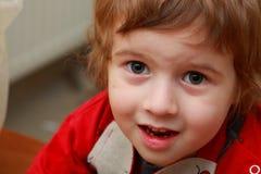 Portret van de jongen Royalty-vrije Stock Afbeeldingen