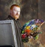 Portret van de kunstenaar Stock Afbeelding