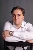 Portret van de man Stock Afbeeldingen