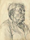 Portret van de mens royalty-vrije illustratie