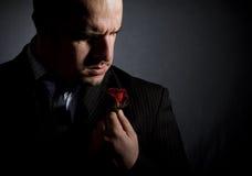 Portret van de mens. Royalty-vrije Stock Fotografie