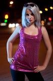 Portret van de mooie blonde Royalty-vrije Stock Foto