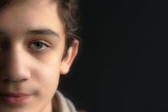 Portret van de mooie jonge mens Royalty-vrije Stock Fotografie