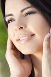 Portret van de Mooie Spaanse Vrouw van Latina stock afbeeldingen