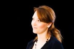 Portret van de mooie vrouw Royalty-vrije Stock Fotografie