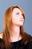 Portret van de mooie vrouw Stock Afbeeldingen