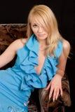 Portret van de mooie vrouw. stock afbeeldingen