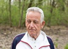 Portret van de oude mens Royalty-vrije Stock Foto