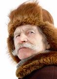 Portret van de oude mens Royalty-vrije Stock Afbeelding