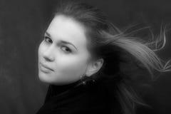 Portret van de seksuele jonge vrouw Royalty-vrije Stock Afbeelding