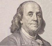 Portret van de staatsman, de uitvinder, en de diplomaat Benjamin Franklin van de V S President Benjamin Franklin Royalty-vrije Stock Afbeeldingen