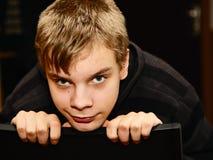 Portret van de tiener Stock Foto's
