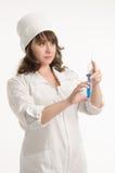 Portret van de verpleegster Royalty-vrije Stock Fotografie