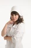 Portret van de verpleegster Stock Fotografie