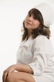 Portret van de verpleegster Stock Foto's