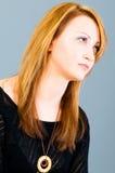 Portret van de vrouw Royalty-vrije Stock Fotografie