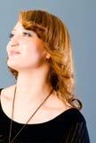 Portret van de vrouw Royalty-vrije Stock Afbeeldingen