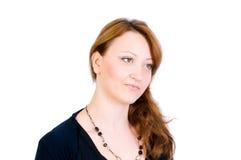 Portret van de vrouw Stock Foto's