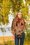 Portret van de vrouw Royalty-vrije Stock Afbeelding