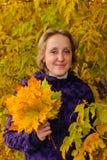 Portret van de vrouw Stock Afbeelding
